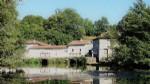 Moulin début du XXème siècle avec îles privées