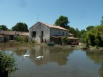 Belle propriété de 5 chambres avec moulin, rivière et étangs