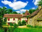 Moulin  Proche St Antonin dans un environnement de rêve
