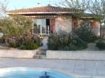 Belle villa de 143 m² habitables et sous-sol aménagé de 100 m² sur 1300 m² avec piscine et vues