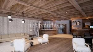T4 de luxe dans résidence 5* aux pieds des pistes de Praz sur Arly (74120)