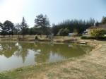 Maison individuelle avec petit lac de pêche / étang dans un endroit calme.