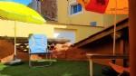 Ancienne écurie transformée en charmante maison avec terrasse de toit, vendue meublée !