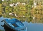 Bergerac proche, belvédère sur Dordogne dans bourg tous commerces