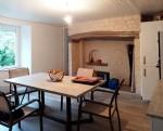 Maison de village de 88 m2 avec 4 pièces ,cave,garage et terrasse-jardin, source