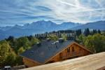 Appartement T4 Combloux (74920) vue Mont Blanc