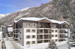 74400 CHAMONIX-MONT-BLANC Appartement de Ski a vendre. SH 88m². 3 ch