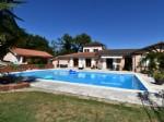 Maison contemporaire avec piscine