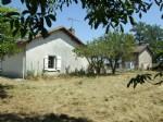 Maison plain pied avec grange et 3000m² de terrain autour