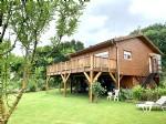 Superbe maison écologique à ossature bois face aux Pyrénées