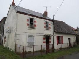 Maison 2 chambres à rénover avec grange
