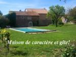Elegante Maison de Maitre avec corps de ferme, piscine, jardin de 3000m²!