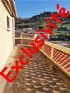 *Maison de village indépendante avec 4 chambres, terrasses et grand garage