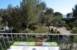 100 m de la plage : F2 40 m² avec terrasse sud vue mer.