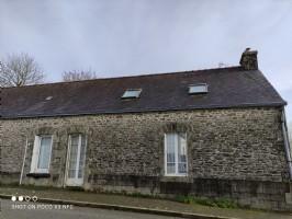 Région LE CROISTY (56) , maison de bourg, une chambre et grenier amménageable