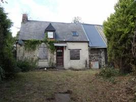 Maison d'habitation pour rénover,en campagne tranquille