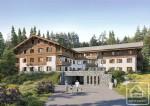 T2 cabine de 57,09m2 avec terrasse, 1 salle de bain, cave et casier à ski.