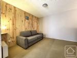 Vue incroyable pour cet appartement de 29 m2 situé sur les hauteurs de Saint-Gervais.