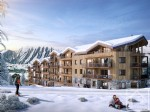 Appartements neufs de 3 chambres + coin montagne, avec garage et casier à skis face aux pistes